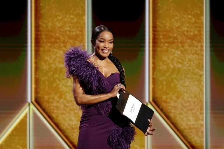 Golden Globes presenter Angela Bassett was one of the few stars in attendance at the actual ceremony, but others made their red carpet statements from home