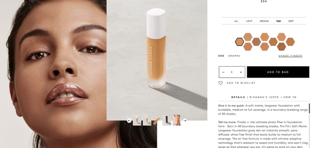 Fenty Beauty by Rihanna launched today, and while some people are excited, others are not as hyped. (Photo: Fenty Beauty)