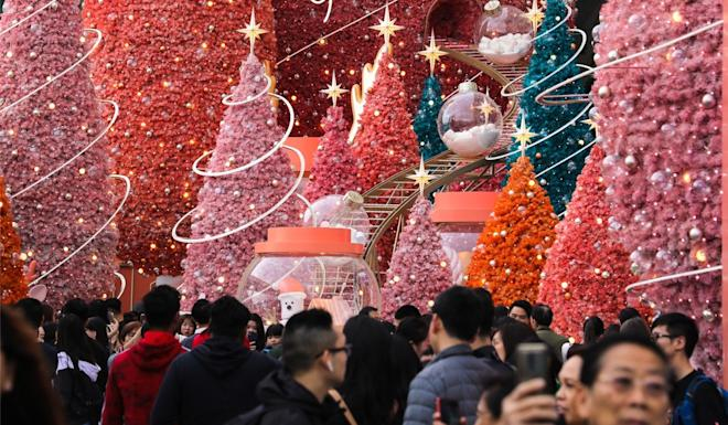Tsim Sha Tsui is famous for its Christmas displays and decors. Photo: Dickson Lee