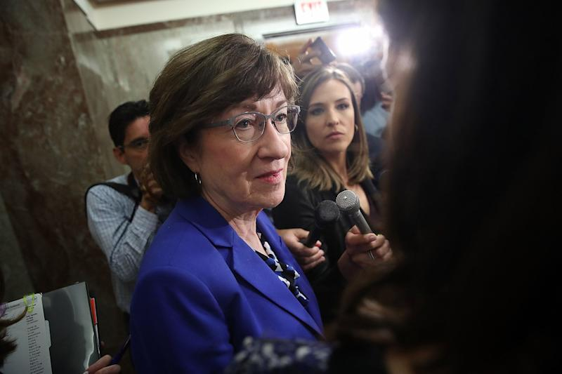 Susan Collins Faces Re-Election as Standing Erodes in Trump Era