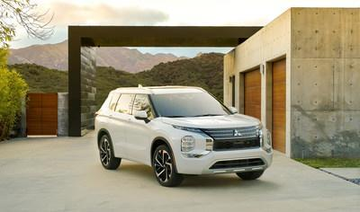 Mitsubishi Motors introduces all-new 2022 Outlander in world's first Amazon Live unveil event.