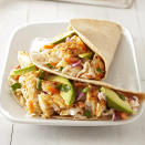 "<p>Lightened-up Baja-style fish tacos make a quick, flavorful meal that's easy to whip up in a few minutes. <a href=""http://www.eatingwell.com/recipe/263503/chipotle-fish-tacos/"" rel=""nofollow noopener"" target=""_blank"" data-ylk=""slk:View recipe"" class=""link rapid-noclick-resp""> View recipe </a></p>"