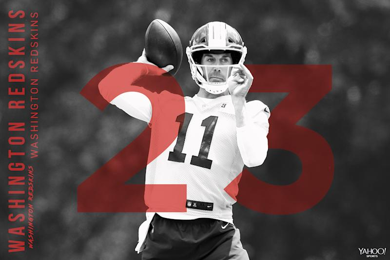 timeless design 76d62 9f4b9 2018 NFL Preview: Alex Smith is Redskins' new hope at QB