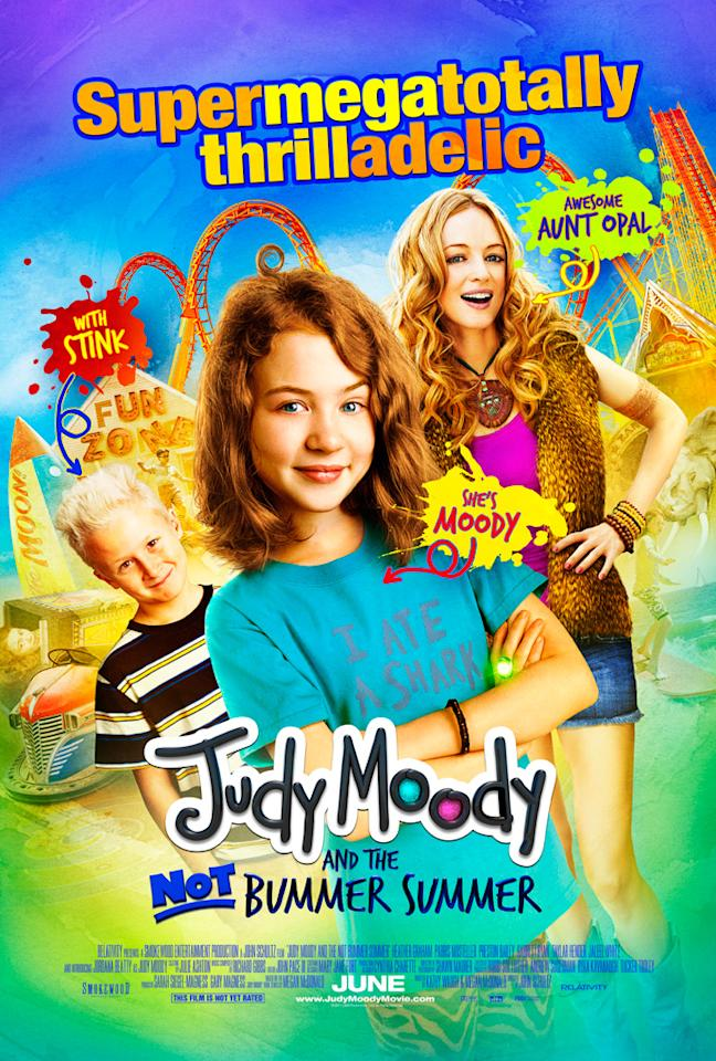 """The Worst:  <a href=""""http://movies.yahoo.com/summer-movies/judy-moody-not-bummer-summer/1810178823"""">JUDY MOODY AND THE NOT BUMMER SUMMER</a>    Aside from the odd and incomprehensible tagline, it feels a lot like this poster is shouting at you and refuses to turn down the volume."""