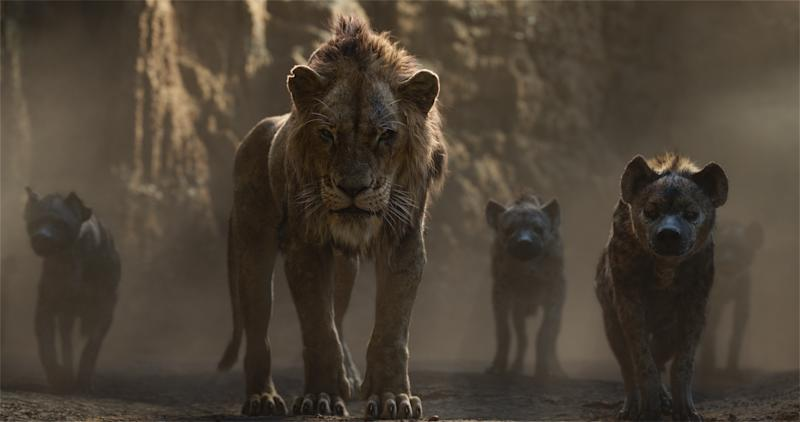 """Featuring the voices of Florence Kasumba, Eric André and Keegan-Michael Key as the hyenas, and Chiwetel Ejiofor as Scar, Disney's """"The Lion King"""" is directed by Jon Favreau. 