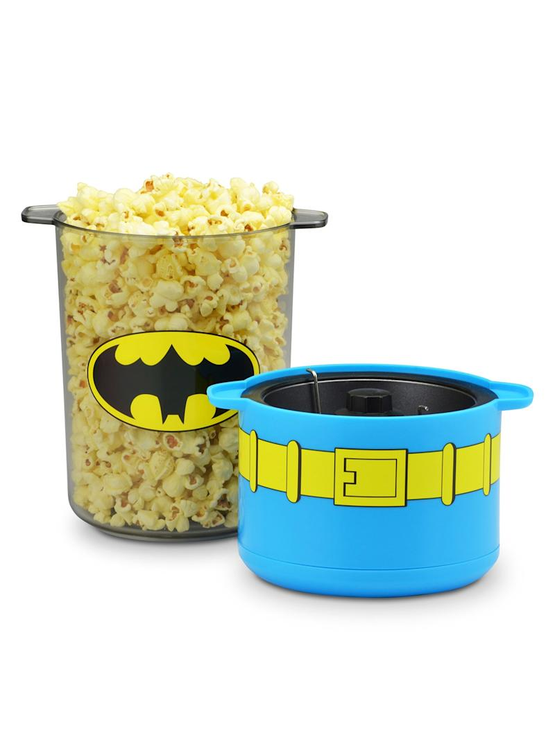 Batman Mini Stir Popcorn Popper (Photo: DC Comics)