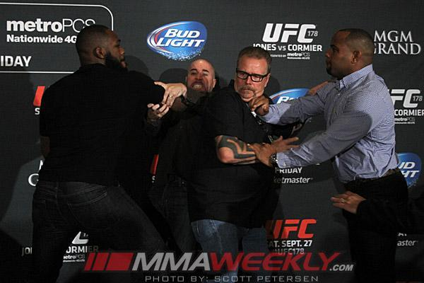 NSAC To Investigate The Jones-Cormier Brawl, UFC Says There Will Be Ramifications