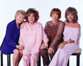 """<p>Years afterwards, after Elizabeth had divorced Eddie, the two movie stars eventually reconciled. As Debbie revealed in an interview with <em><a href=""""https://www.hollywoodreporter.com/news/debbie-reynolds-reveals-how-she-171252"""" rel=""""nofollow noopener"""" target=""""_blank"""" data-ylk=""""slk:Hollywood Reporter"""" class=""""link rapid-noclick-resp"""">Hollywood Reporter</a>, </em>she and Elizabeth made up in 1966 when the two stars found themselves booked on the same cruise trip. Then, in 2001, Elizabeth and Debbie starred together in the film <em>These Old Broads</em>, which was written by Debbie and Eddie's daughter, <a href=""""https://www.goodhousekeeping.com/life/entertainment/g32222003/carrie-fisher-life-in-photos/"""" rel=""""nofollow noopener"""" target=""""_blank"""" data-ylk=""""slk:Carrie Fisher"""" class=""""link rapid-noclick-resp"""">Carrie Fisher</a>. </p><p><strong>RELATED: </strong><a href=""""https://www.goodhousekeeping.com/beauty/g2536/old-hollywood-actresses-then-and-now/"""" rel=""""nofollow noopener"""" target=""""_blank"""" data-ylk=""""slk:40 Old Hollywood Actresses Who Aged Beautifully"""" class=""""link rapid-noclick-resp"""">40 Old Hollywood Actresses Who Aged Beautifully</a><br></p>"""