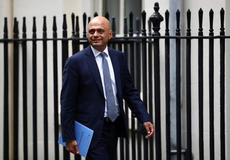 UK's Javid ramps up spending as election talk mounts