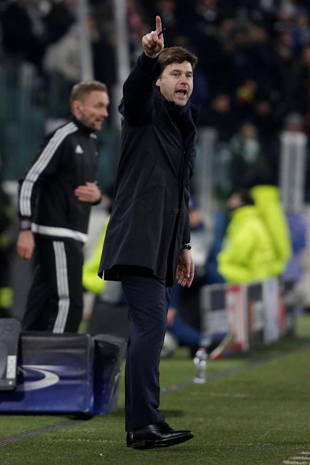 Soccer Football - Champions League - Juventus vs Tottenham Hotspur - Allianz Stadium, Turin, Italy - February 13, 2018 Tottenham manager Mauricio Pochettino REUTERS/Max Rossi