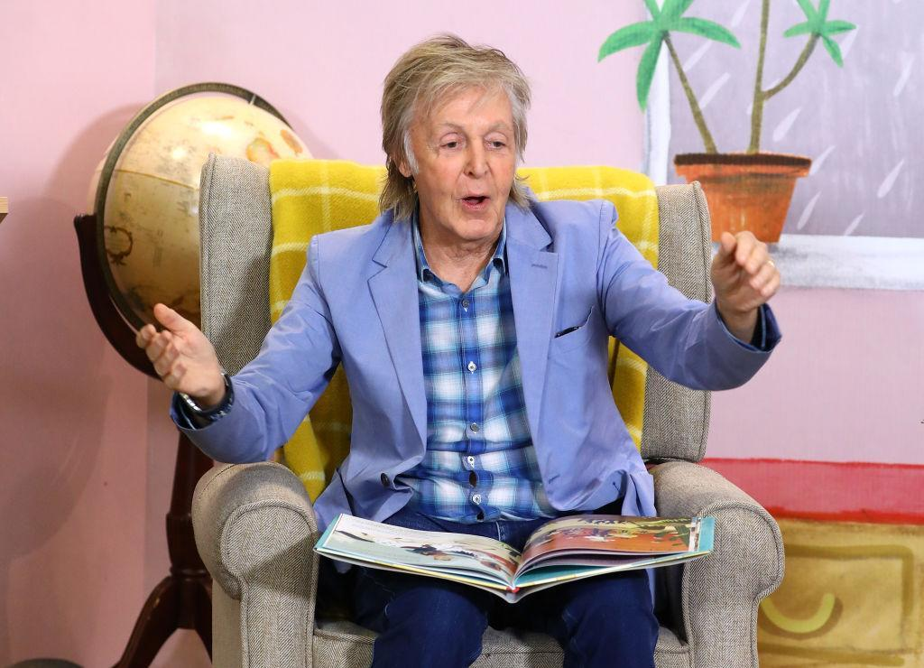 Sir Paul McCartney has revealed he is growing hemp on his farm, pictured in September 2019. (Getty Images)