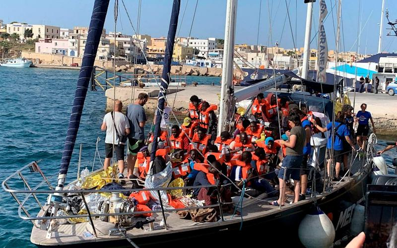 There is growing concern within the EU over the fate of migrants rescued while attempting to cross the Mediterranean - ANSA