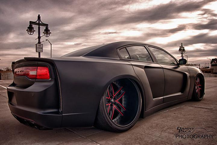 Hellcat Beware This Widebody Charger Is A Real Terror