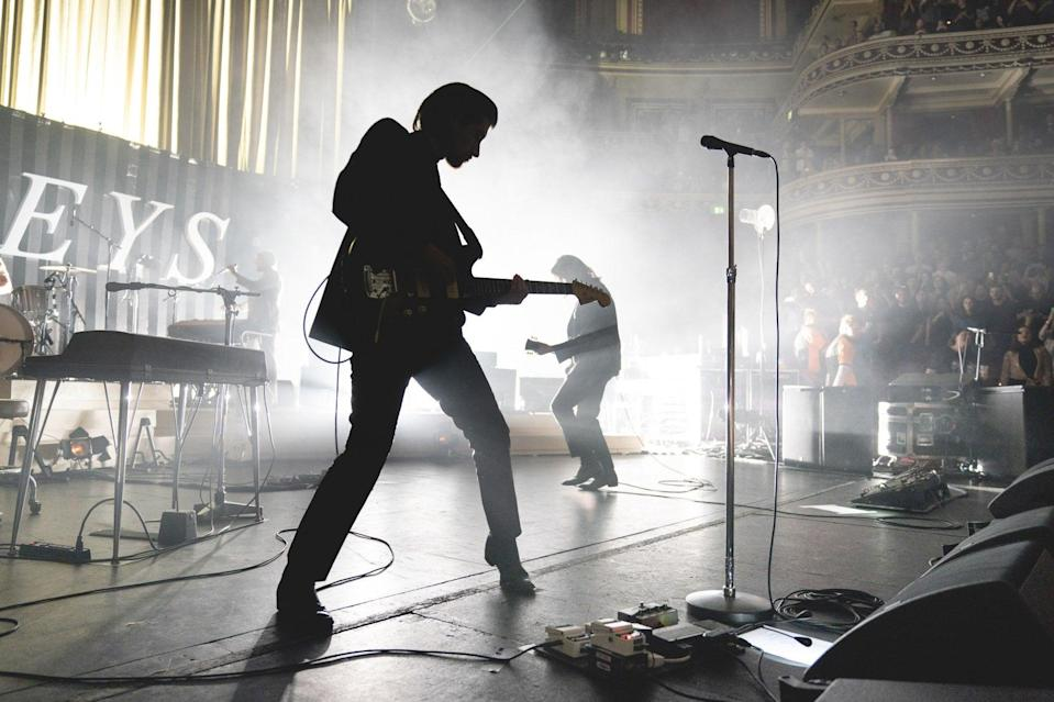 <p>Monkey business: Alex Turner and co are back with a new live album this month</p> (Andy Paradise)