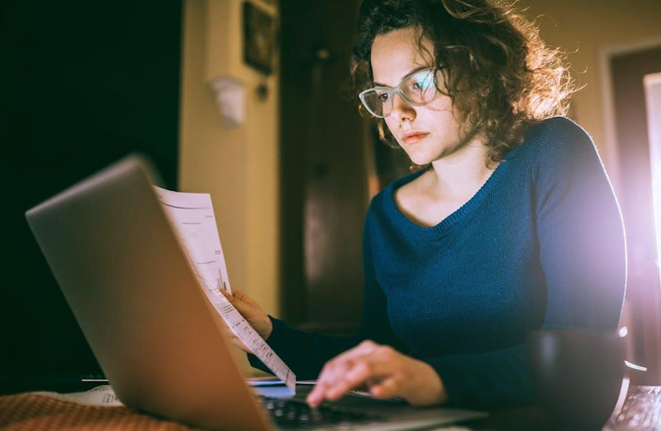"<span class=""caption"">Students are being forced to disclose sensitive information online. </span> <span class=""attribution""><a class=""link rapid-noclick-resp"" href=""https://www.gettyimages.com/detail/photo/serious-girl-swamped-with-work-royalty-free-image/1137750050?adppopup=true"" rel=""nofollow noopener"" target=""_blank"" data-ylk=""slk:urbazon/Getty Images"">urbazon/Getty Images</a></span>"