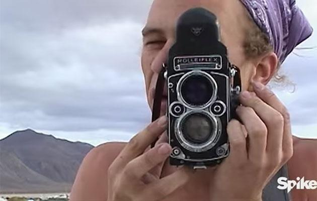 Heath personally shoot the footage shown. Source: Spike