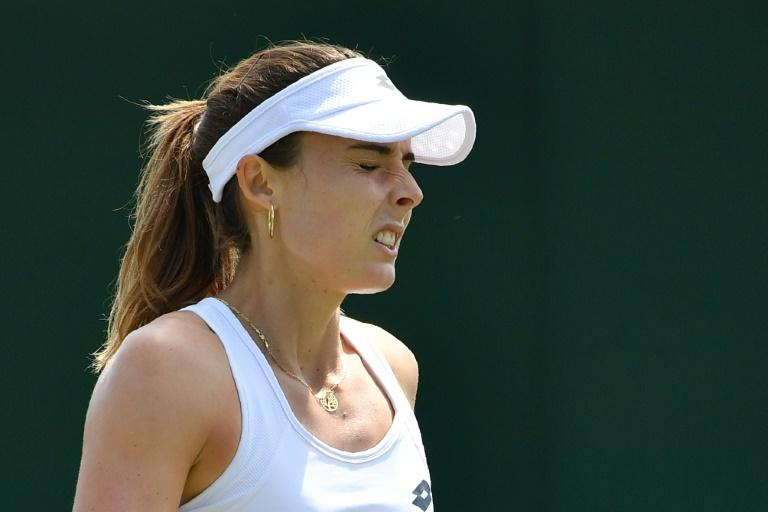 Quick change: France's Alize Cornet