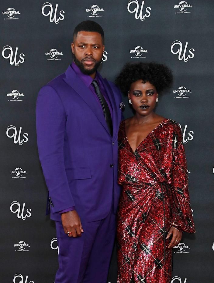 """<p>The 2017 Marvel Cinematic Universe blockbuster hit <em>Black Panther</em> might have been Lupita Nyong'o and Winston Duke's first time working together on-screen, but their connection goes way back. The <em>Us</em> co-stars and real life friends attended Yale University's School of Drama at the same time; Nyong'o even gave Duke a tour of the campus on his first day of school. The duo grew close over time, oblivious when they watched the first <em>Avengers</em> film together that they would be joining the MCU years later. </p><p>""""[Lupita] and I became really close because we shared that immigrant experience,"""" Duke told <em><a href=""""https://www.esquire.com/entertainment/movies/a18199538/winston-duke-black-panther-m-baku-interview/"""" rel=""""nofollow noopener"""" target=""""_blank"""" data-ylk=""""slk:Esquire"""" class=""""link rapid-noclick-resp"""">Esquire</a></em>. He hails from Trinidad, and the Academy Award winner, whose family is Kenyan, was born in Mexico. """"We shared the idea of having really big dreams knowing that we'd left our own country.""""</p>"""