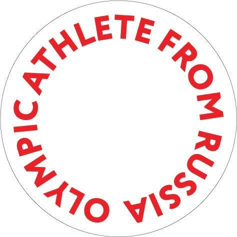 IOC's logo for Russian athletes. (Via IOC)