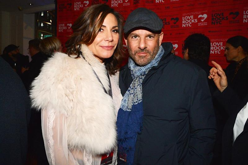 Luann de Lesseps and Richard Super in March 2019 | Patrick McMullan via Getty