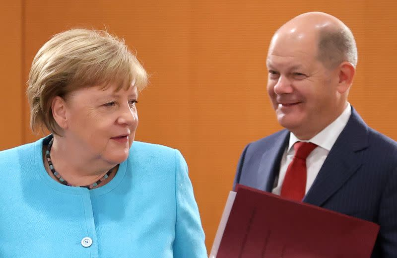 Germany well-placed to avoid second wave of virus infections: Scholz
