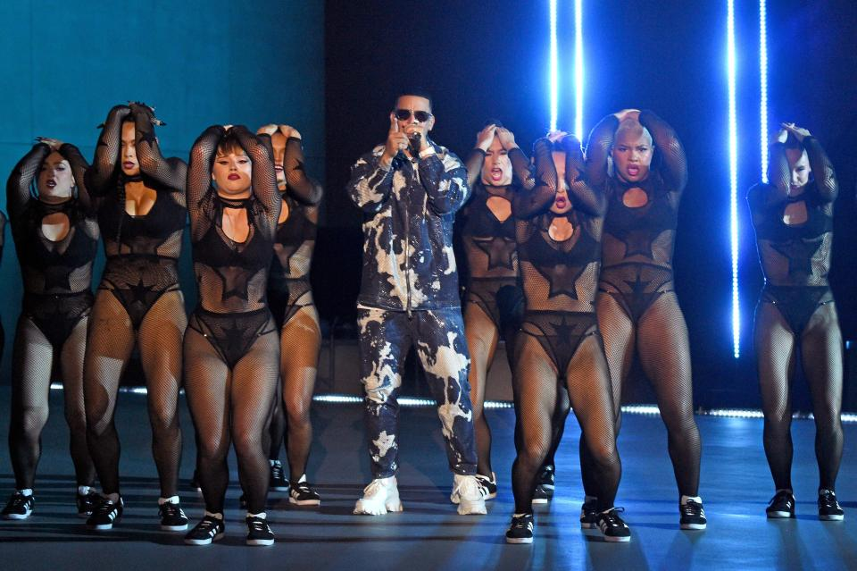 Daddy Yankee performs during Rihanna's Savage X Fenty Show Vol. 3 presented by Amazon Prime Video in Los Angeles. - Credit: Getty Images for Rihanna's Savage x Fenty Show