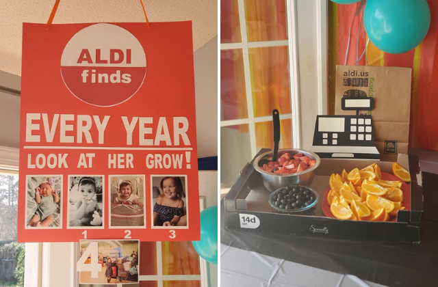 Aldi party decorations