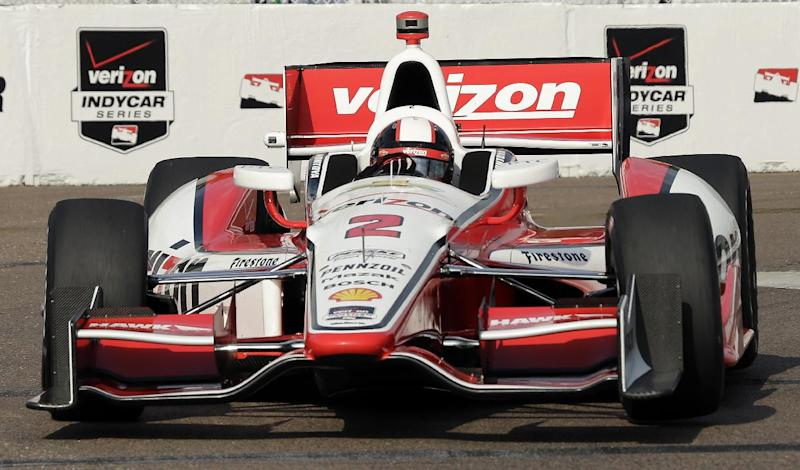 Takuma Sato wins pole for IndyCar season-opener