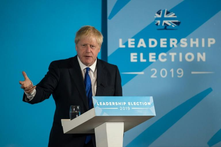 Johnson's supporters are backing him as the best man to lead the party if the Brexit deadlock results in an early election (AFP Photo/OLI SCARFF)
