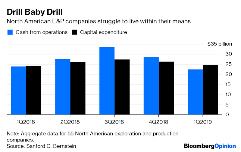 (Bloomberg Opinion) -- Wyoming's Powder River Basin has beengenerating somebuzz in oil and gas circles as a potential source of new supply (as if oil and gas need that). On Wednesday, though, its real significance was as a strategic signpost.The PRB, as it is known, is more famous for coal; and two of the biggest miners, Peabody Energy Corp. and Arch Coal Inc., are throwing their lot there together. A planned joint venture will combine five mines in Wyoming and Colorado into a single operation producing more than 60%of the basin's coal. It will be roughly two-thirds owned by Peabody, with Arch taking the rest.The PRB produces a cheaper form of coal, with lower energy content, relative to what comes out of Appalachia –and its market is crumbling. Cheap shale gas, renewable energy andflat consumption have cut coal use inU.S. power plants by almost 40% over the past decade. Despite creative attempts by the White House to reverse that trend, the Energy Information Administration expects it to drop by another 19% through the end of next year. Cloud Peak Energy Inc., which operates several PRB mines, is currently in chapter 11 –from which both Peabody and Arch have only emerged themselves within the past few years. And the combined output of their mines inWyoming, which constitute the vast majority of the joint venture's output, has dropped away:So Arch and Peabody want togetthose assets together, squeeze out costs and try to be the last guy(s) standing. The two miners expect synergies they value at $820 million, or roughly a fifth of their combined market cap. That alone is reason to try. It also puts some distance between the PRB assets and the companies' metallurgical-coal operations, where prospects (and profits) are better.This is a textbook deal for two commodity producers faced with terminal decline in their market. For Arch, it continues a strategy of rejecting the growth impulse that pushed much of this industry into chapter 11 within the past decade in favor of 