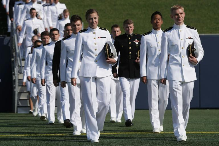 Satanic Temple members can gather but not hold services at the US Naval Academy in Annapolis, Maryland, where future naval officers are trained