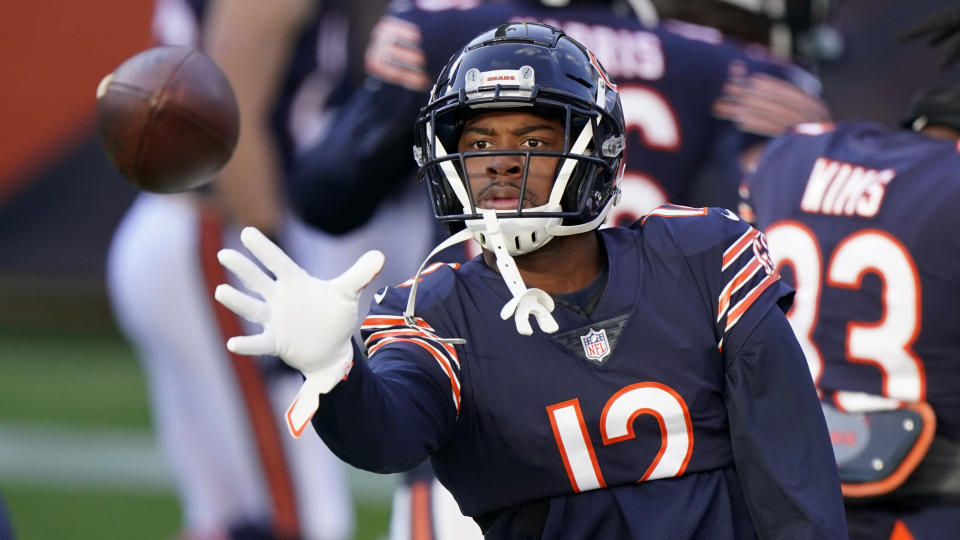 Chicago Bears wide receiver Allen Robinson II will be a big name in free agency. (AP Photo/Nam Y. Huh)