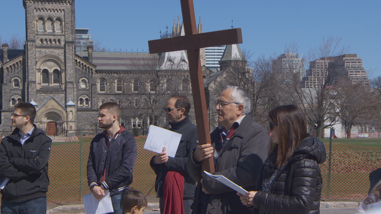 Good Friday's message 'more relevant than at any other time,' for many Toronto Christians