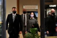 Huawei Technologies Chief Financial Officer Meng leaves court in Vancouver