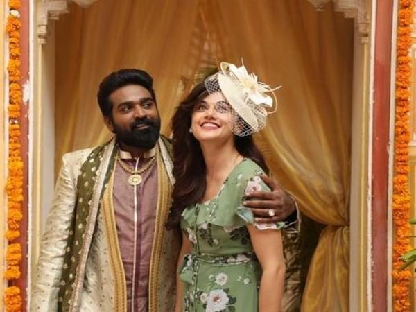 Vijay Sethupathi, Taapsee Pannu in a still from 'Annabelle Sethupathi' (Image source: Instagram)