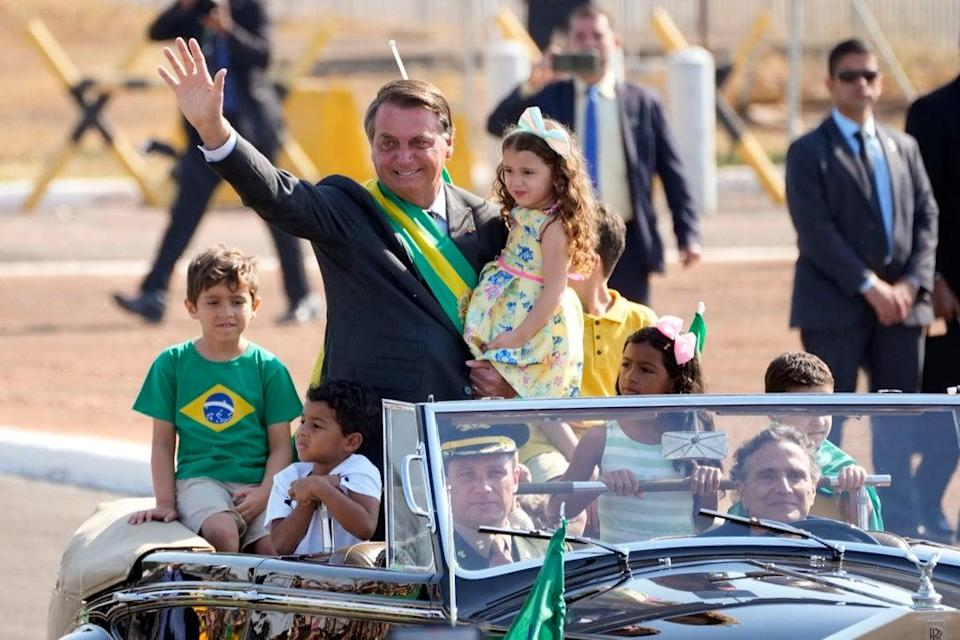 Brazil Independence Day (Copyright 2021 The Associated Press. All rights reserved)