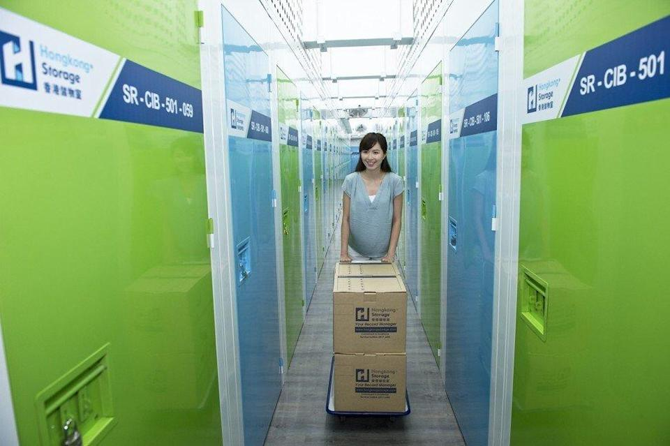 A self-storage facility in Hong Kong. During the coronavirus pandemic, many people look for extra space as they adapt to working from home. Photo: SCMP Pictures