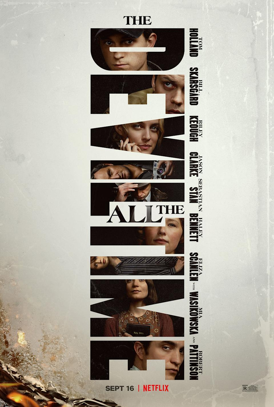 Key art for The Devil All The Time (Netflix)