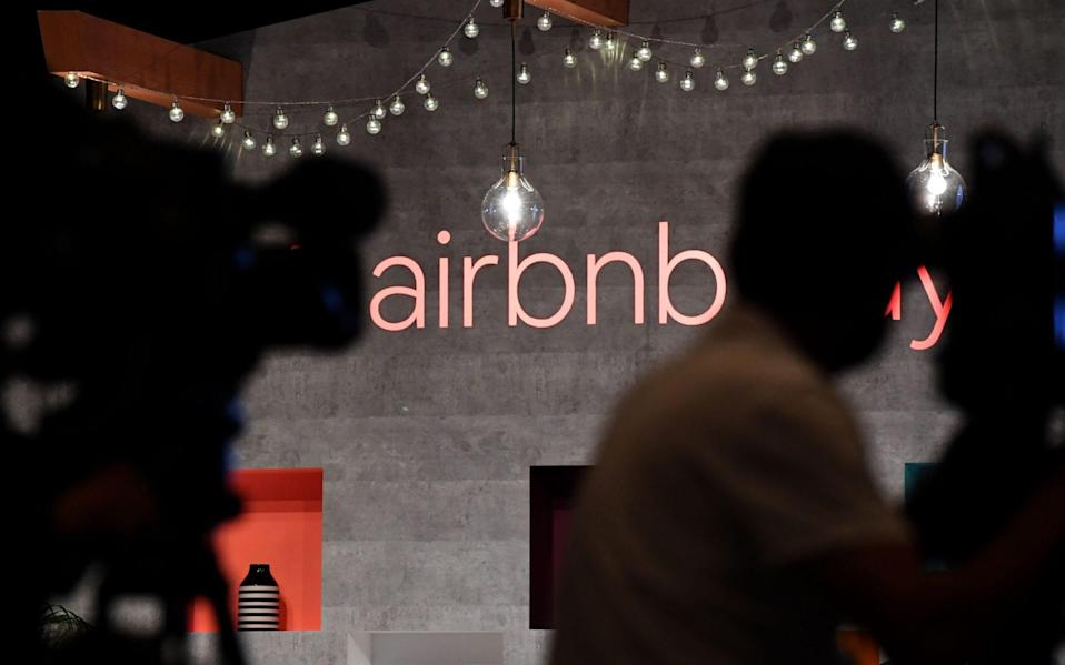 Airbnb office - AFP