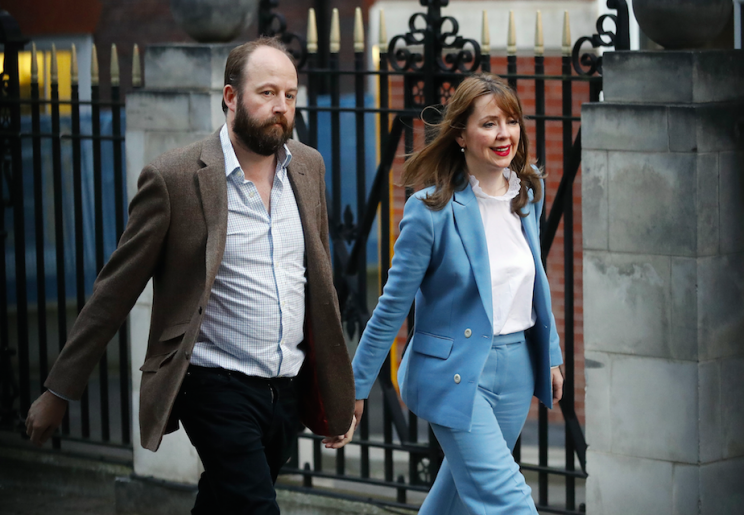 Nick Timothy and Fiona Hill resigned as Theresa May's advisers on Saturday (Picture: Rex)