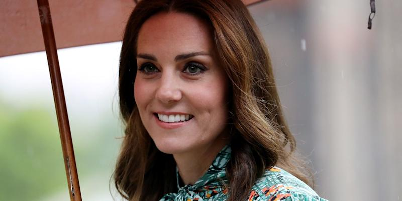 Duchess of Cambridge pairs £182 dress with espadrilles for garden picnic