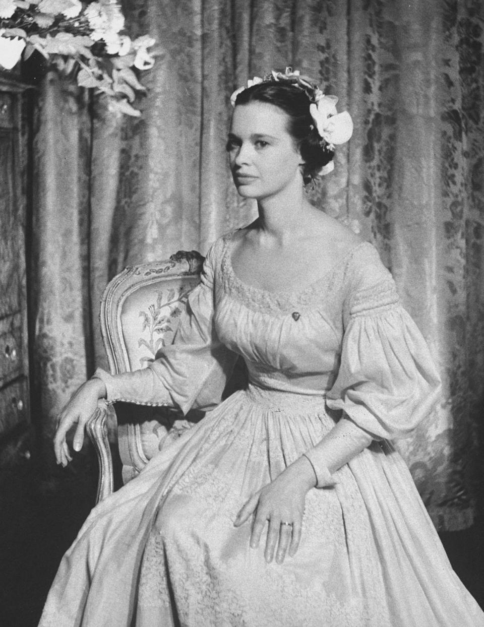 <p>Gloria Vanderbilt's third husband was director Sidney Lumet. They married in 1956 and divorced in 1963, so the relationship was admittedly pretty short-lived. Even so, Gloria looked absolutely stunning on her wedding day, wearing a beige gown rather than the traditional white, which was made out of French linen that dates from 1830. Note: This time, she ditched the pearls. </p>