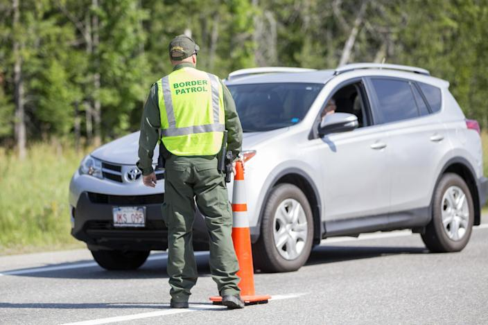 US Customs and Border protection has seen a 1,000 percent spike in drug seizures since the coronavirus pandemic (Getty Images)