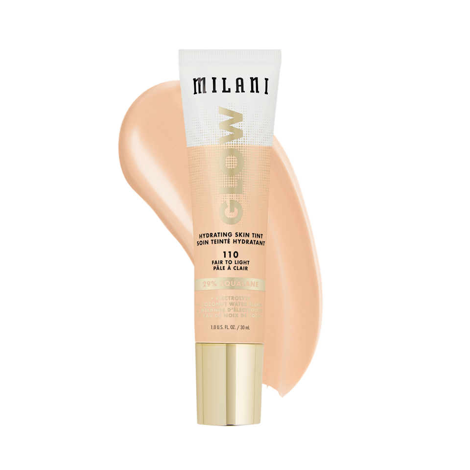 """<p><strong>Milani</strong></p><p>walmart.com</p><p><strong>$9.97</strong></p><p><a href=""""https://go.redirectingat.com?id=74968X1596630&url=https%3A%2F%2Fwww.walmart.com%2Fip%2F792747695&sref=https%3A%2F%2Fwww.thepioneerwoman.com%2Fbeauty%2Fskin-makeup-nails%2Fg36969963%2Fbest-drugstore-tinted-moisturizer%2F"""" rel=""""nofollow noopener"""" target=""""_blank"""" data-ylk=""""slk:Shop Now"""" class=""""link rapid-noclick-resp"""">Shop Now</a></p><p>As its name suggests, this tinted moisturizer is all about the glow. The sheer-coverage formula is infused with squalene—a natural emollient and antioxidant—as well as electrolytes and coconut water to keep your skin dewy and fresh all day long.</p>"""