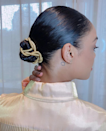 A trip to the craft store is happily worth the effort to re-create this lovely twisted bun.