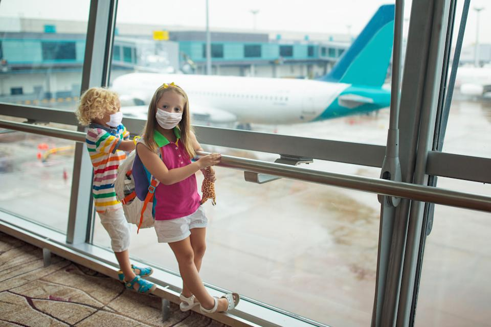 Face masks are a must for travelling. (Getty Images)