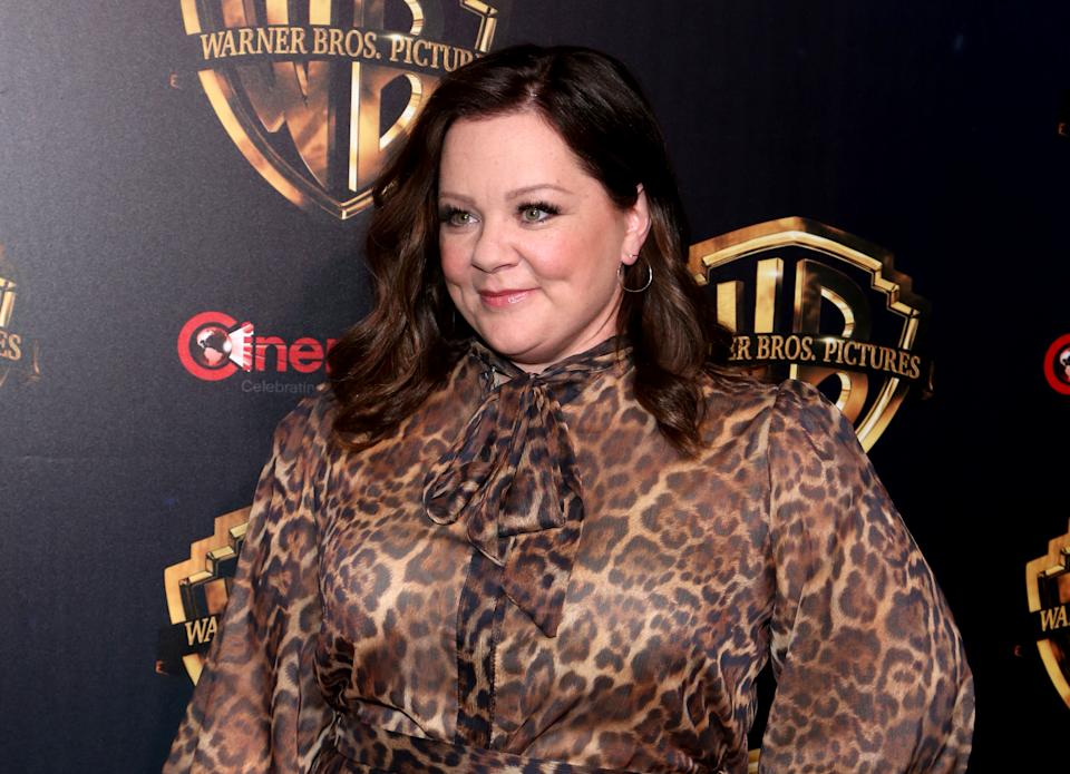 Melissa McCarthy attends Warner Bros. Pictures