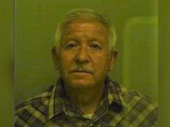 Luis Antonio Campos, 68, was arrested after reportedly abandoning a dog by the side of a road in southern Texas. (El Paso County Sheriff's Office)