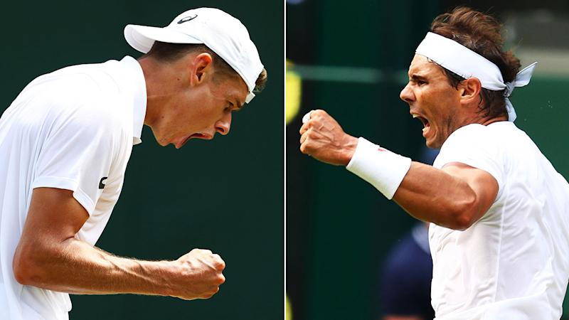 Simona Halep crashes out of Wimbledon, Rafael Nadal advances