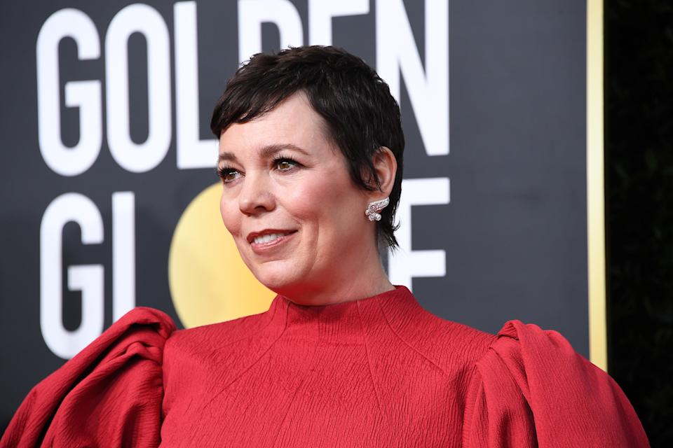 BEVERLY HILLS, CALIFORNIA - JANUARY 05: Olivia Colman attends the 77th Annual Golden Globe Awards at The Beverly Hilton Hotel on January 05, 2020 in Beverly Hills, California. (Photo by Steve Granitz/WireImage)